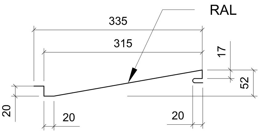 Сечение панели Прованс