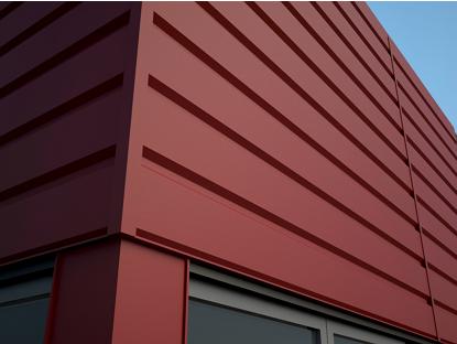 Общий вид фасадных панелей Комплект