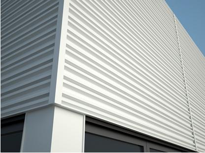 Общий вид фасадных панелей Дежавю